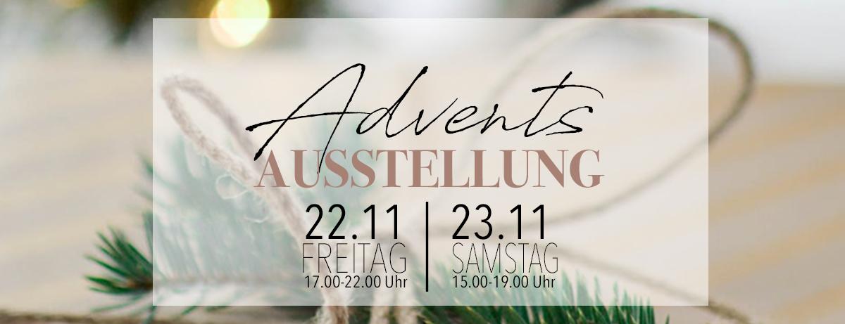 Einladung Adventsausstellung 2019